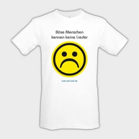 Lieder-Shirt
